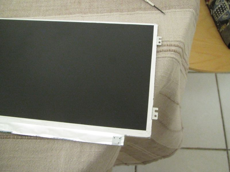 Modified screen panel mounts