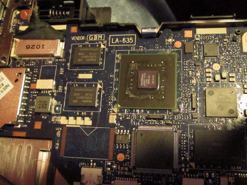 Toshiba AC100 CPU Core