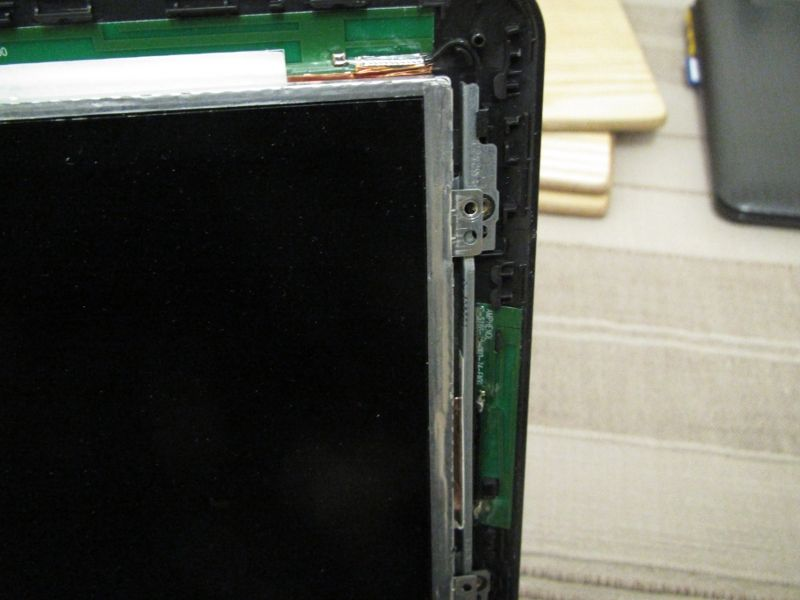 Screen mounts don't quite line up